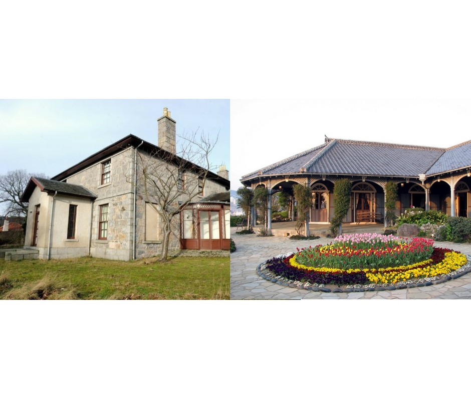 Glover House - North East Scotland (L); South West Japan (R)
