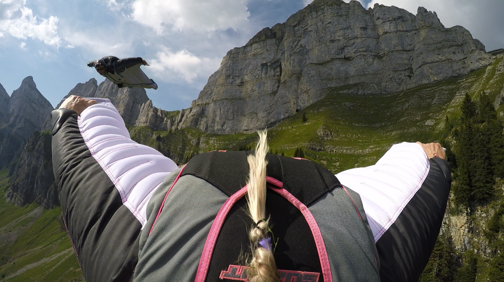 Swiss BASE jumps