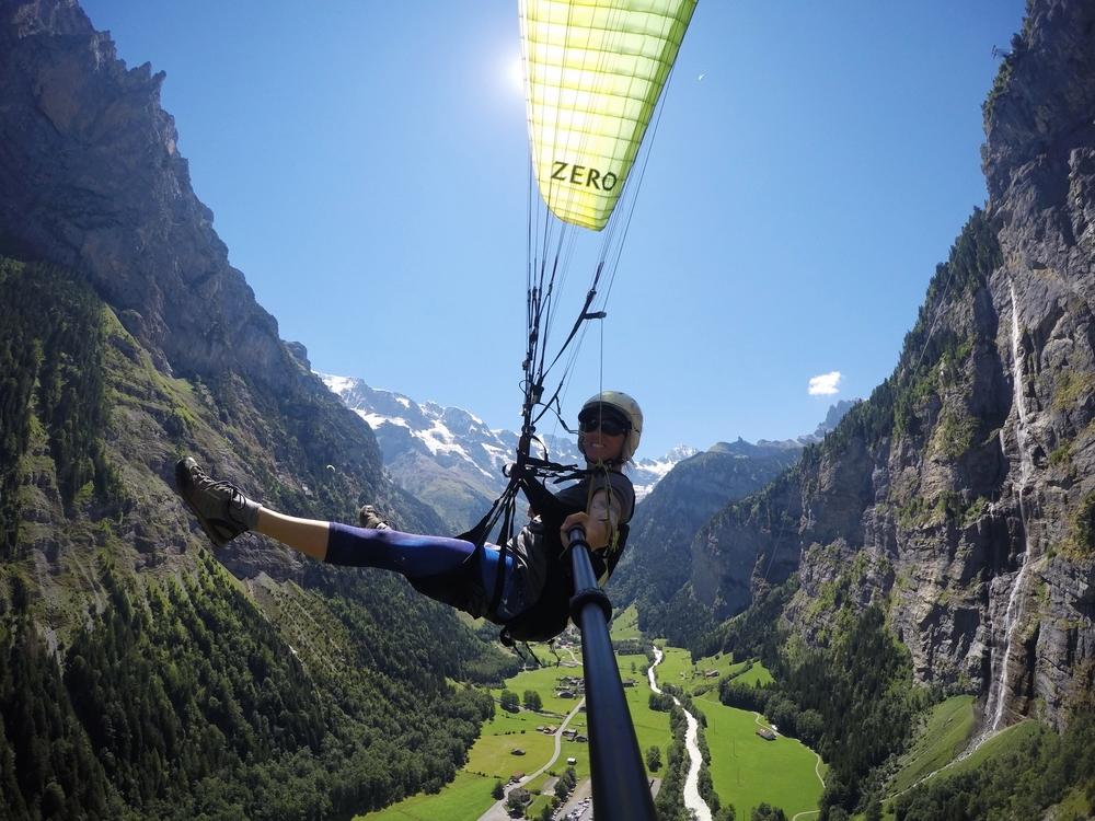Paragliding in Lauterbrunnen