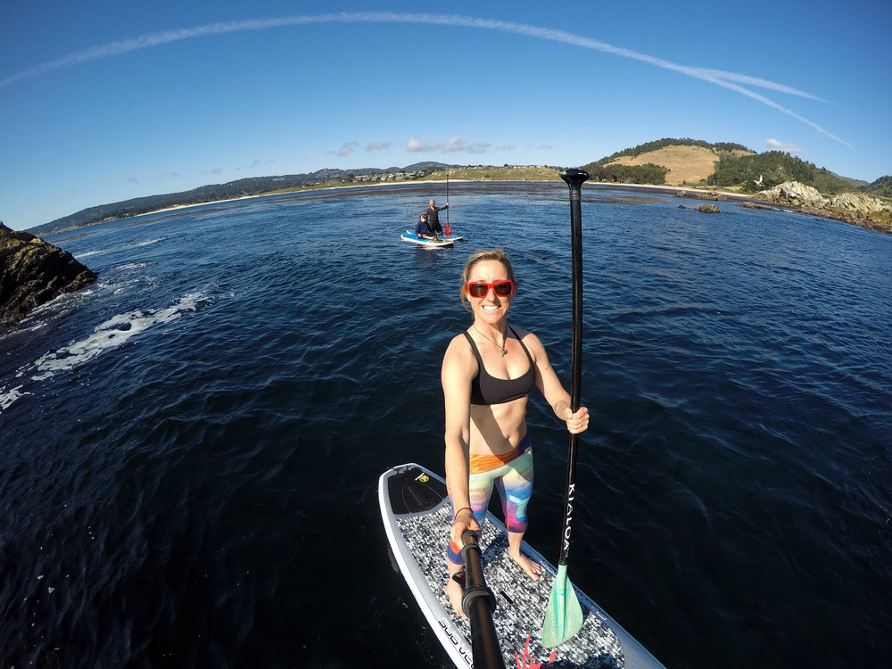 Stand up Paddling around Carmel and Point Lobos