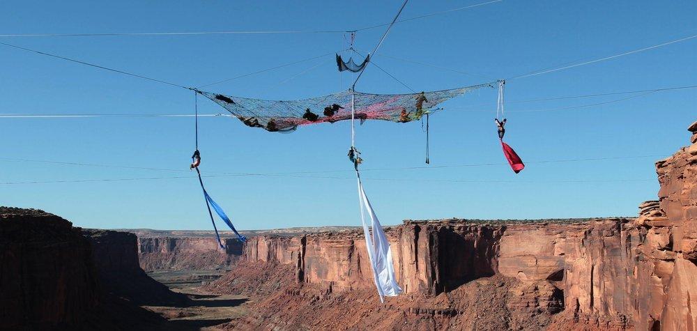Aerial Silks Moab