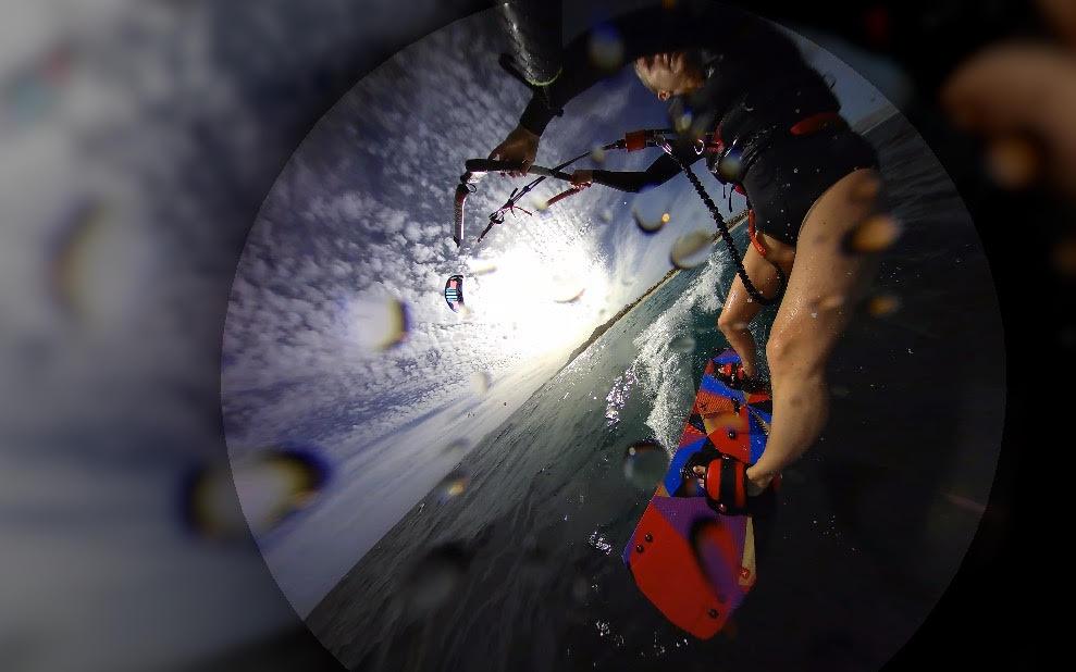 Kite Surfing in Baja, Mexico