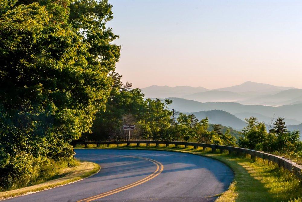 the blue ridge parkway asheville nc