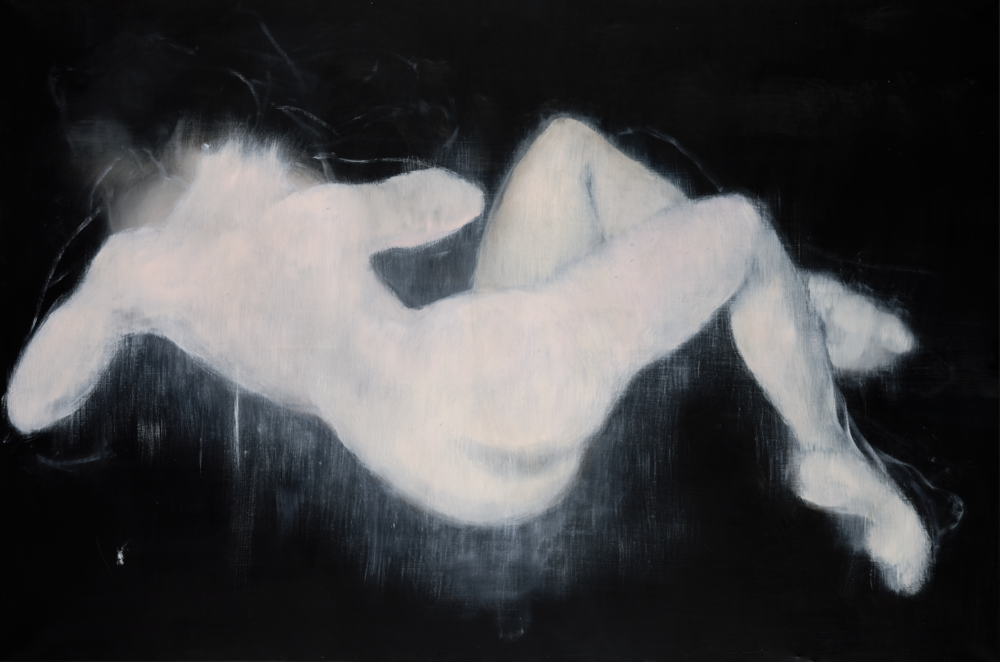 Reclining Nude 2 2000 oil on canvas 130x195cm