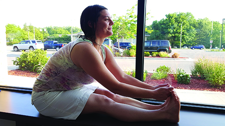 Transforming stress with Bikram Yoga