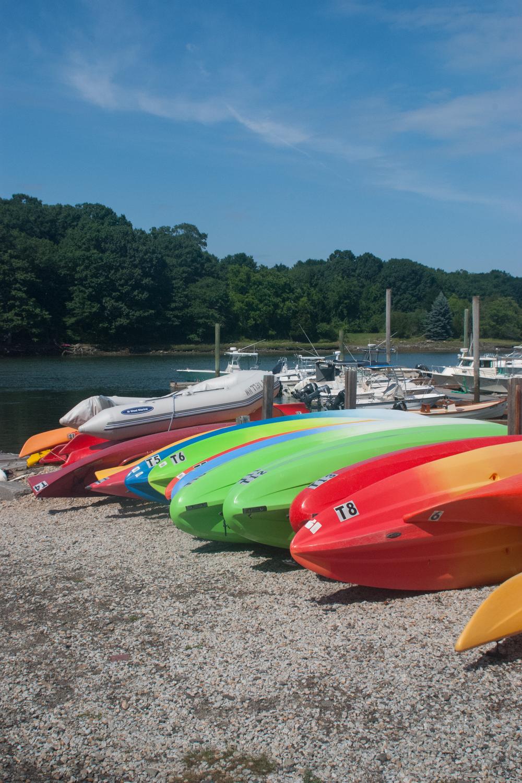 3: The Kayaks