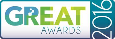 GREAT Awards 2016 logo.