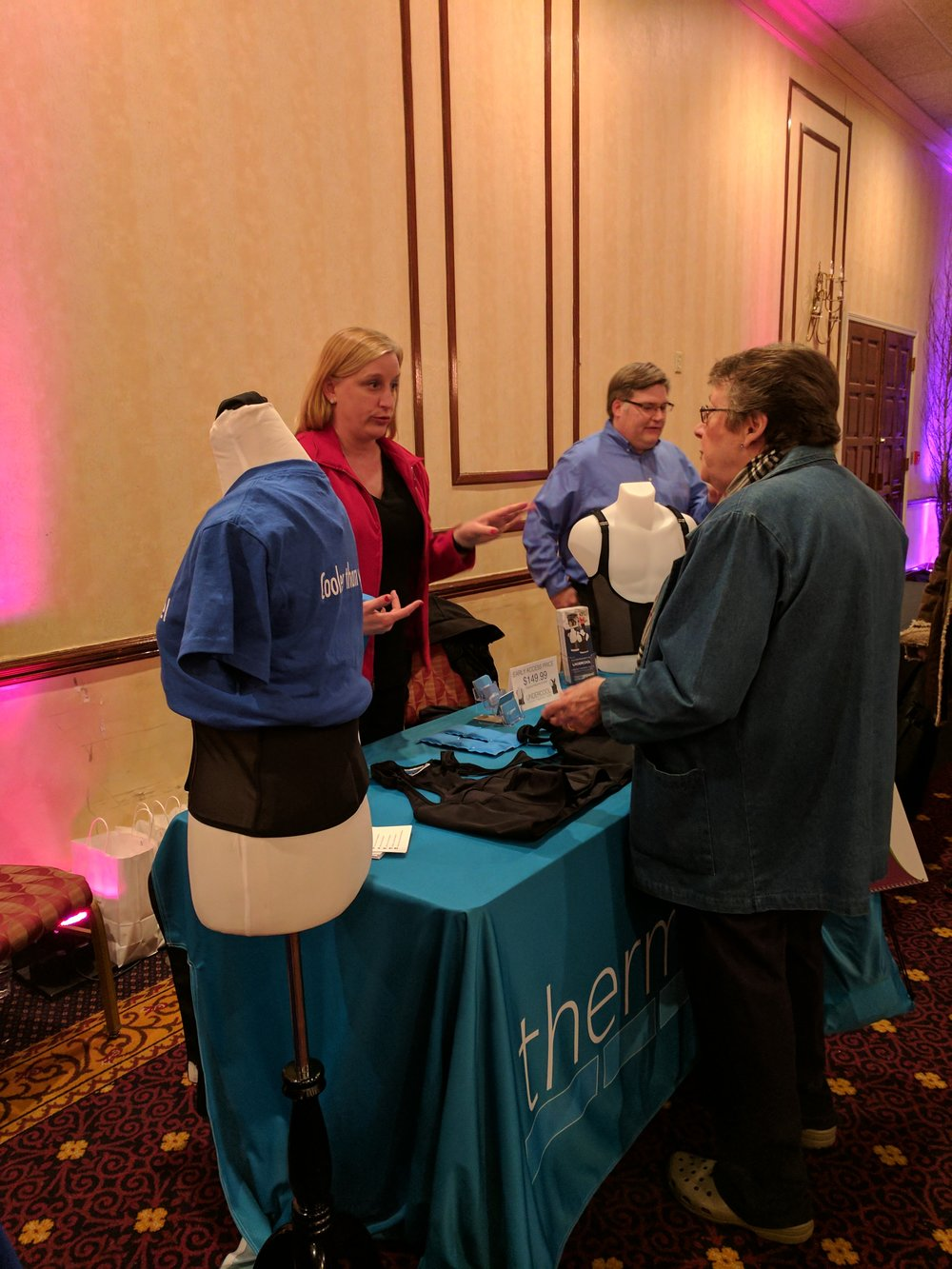 ThermApparel at MS Research Night in Buffalo