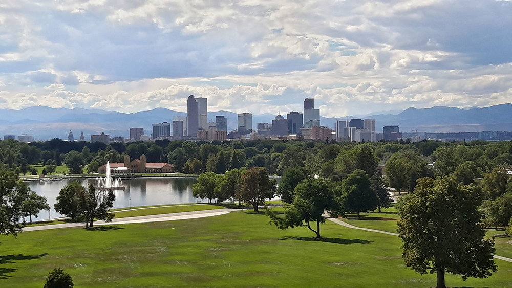 View of downtown Denver, Colorado.