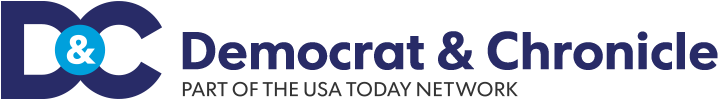 Democrat and Chronicle logo.