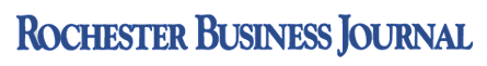 Rochester Business Journal logo.