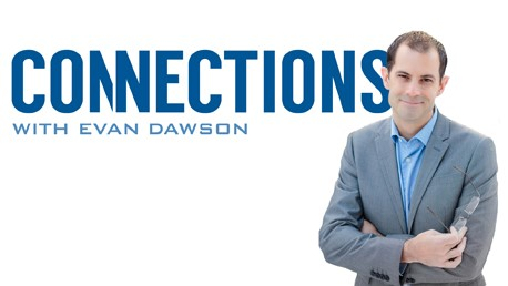 Connections with Evan Dawson logo.