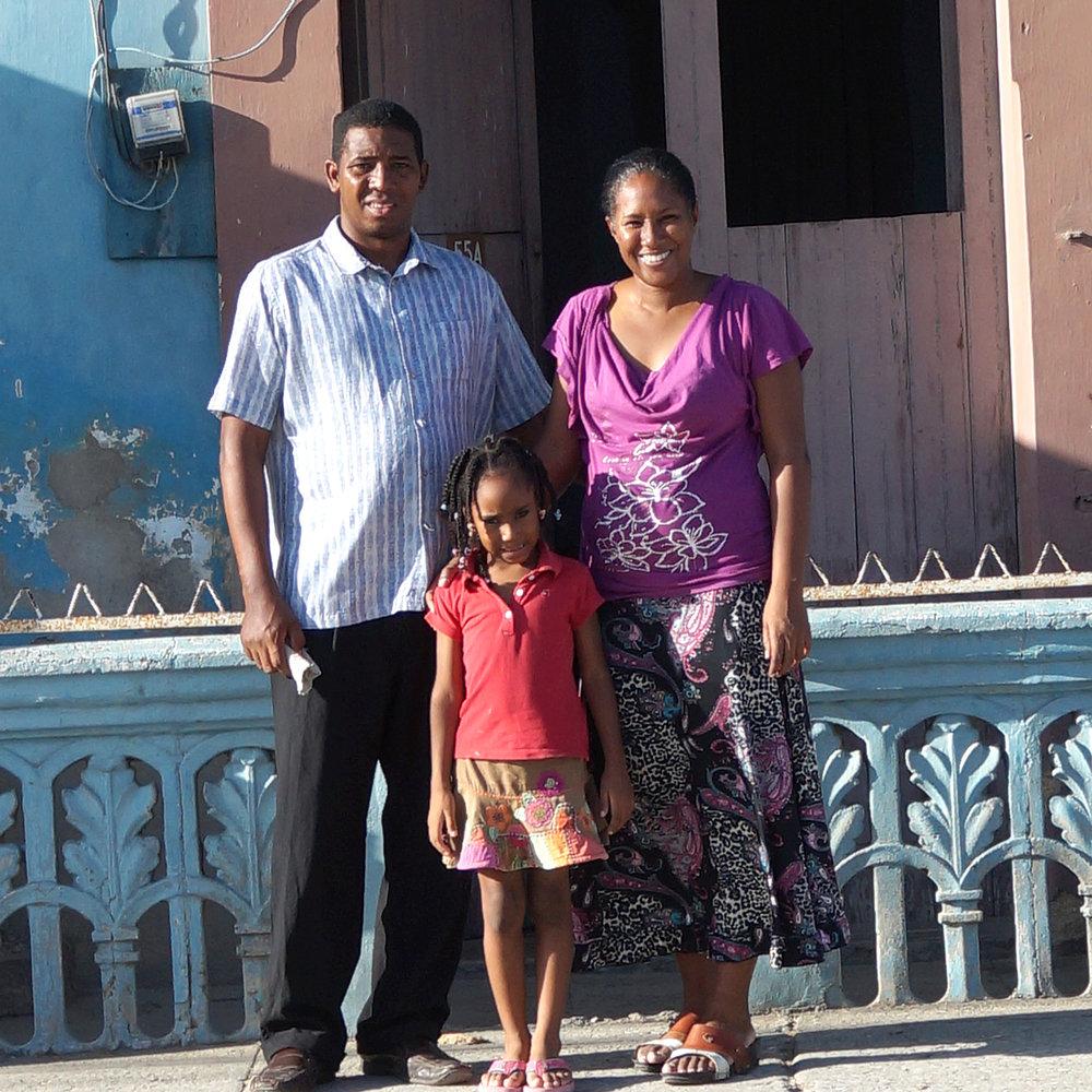 Pastor Jorge &Alathiel - Calabazar, Cuba