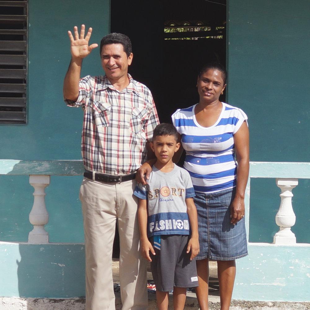Pastor Wilber & Idelaida - Diana, Cuba