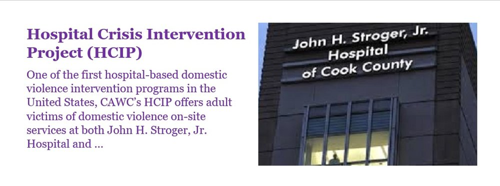 Hospital Crisis Intervention Project