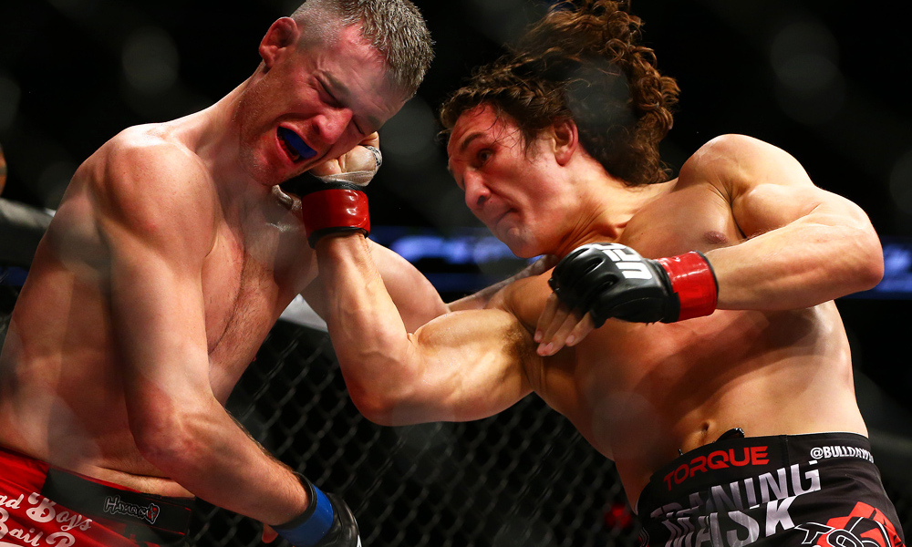 David Michaud - David Michaud is an American Mixed Martial Artist fighting in the welterweight division for the Professional Fighters League (PFL). After a stint with the UFC where he went 1-2, he rebounded winning 7 fights before signing with PFL.🔗Facebook   Instagram