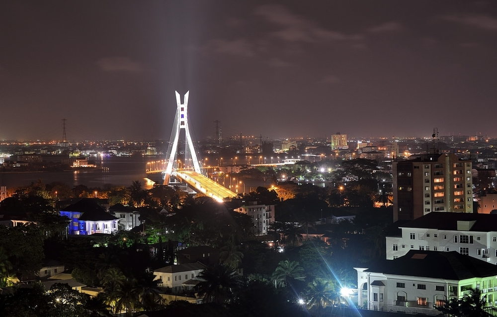 Lekki-Ikoyi Bridge, Lagos. Photo Credit: Blue Clouds Photography