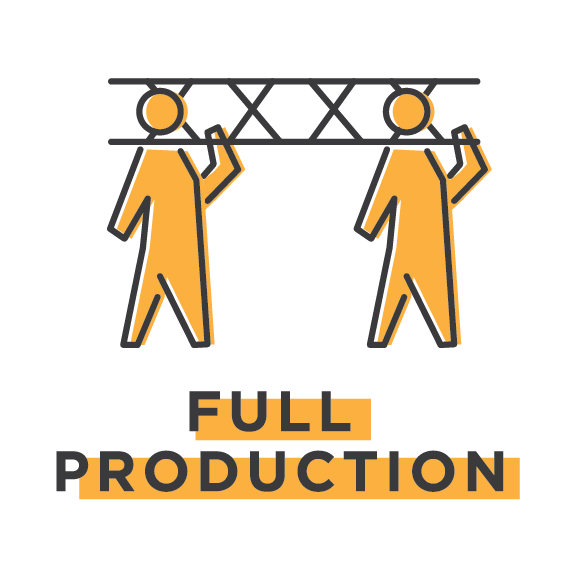 From promoter representation and production management, to staging and rigging, our years of experience come with invaluable industry relationships giving you access to all facets of the event production community. In the event you require a service we don't provide in-house, we'll work with our trusted partners to meet all of your needs and create a cohesive final product.