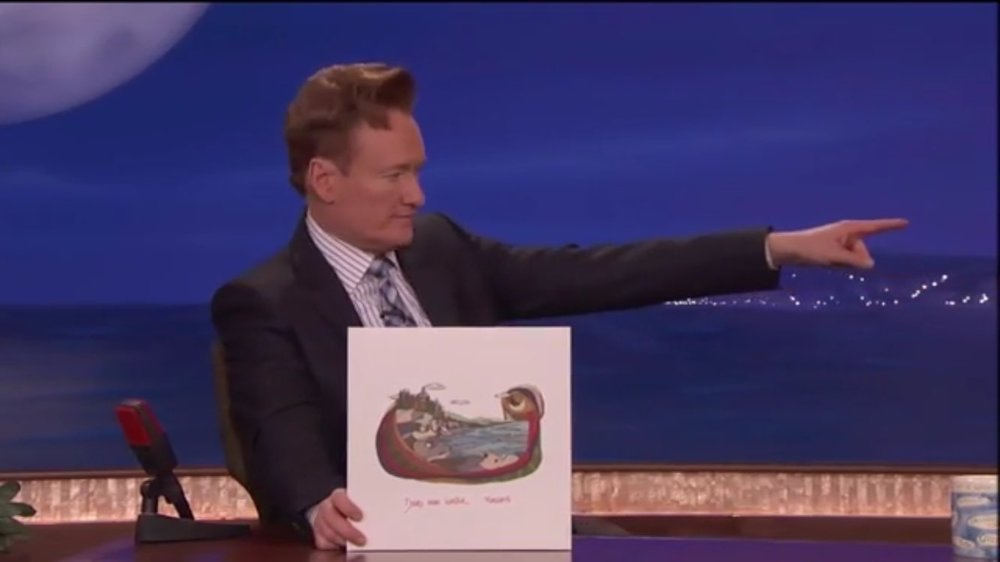 March 30th 2017 // Conan O'Brien introducing Dead Man Winter