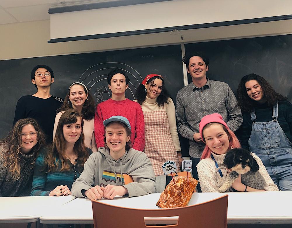 First Year Seminar, Bard College 2018.