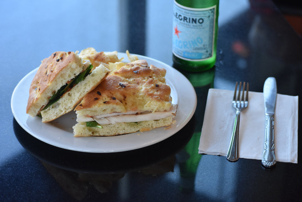 panini sandwiches - All panini served with chips