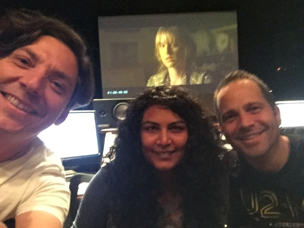 "Mixing ""Atomic Couple!"" with director Rodrigo Espinosa and editor Anisha Acharya (March 2016)"