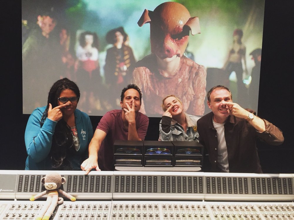 "Mix review on AFI Thesis Film ""Haunt"" at Monkeyland Audio"