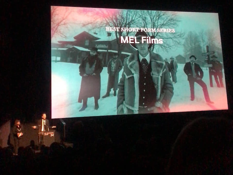 Mel films wins 'Best Short Form Series' at the IDA Documentary Awards.