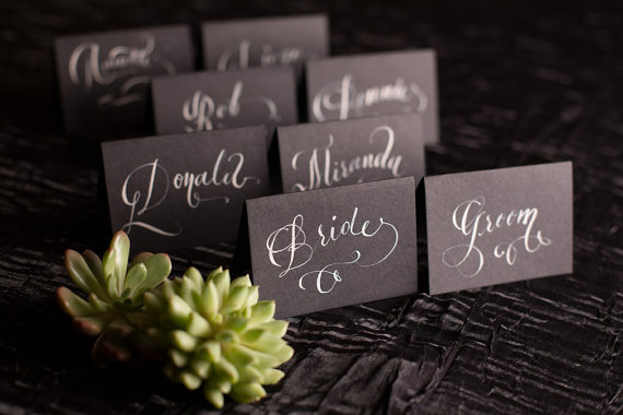 BlackPlaceCards