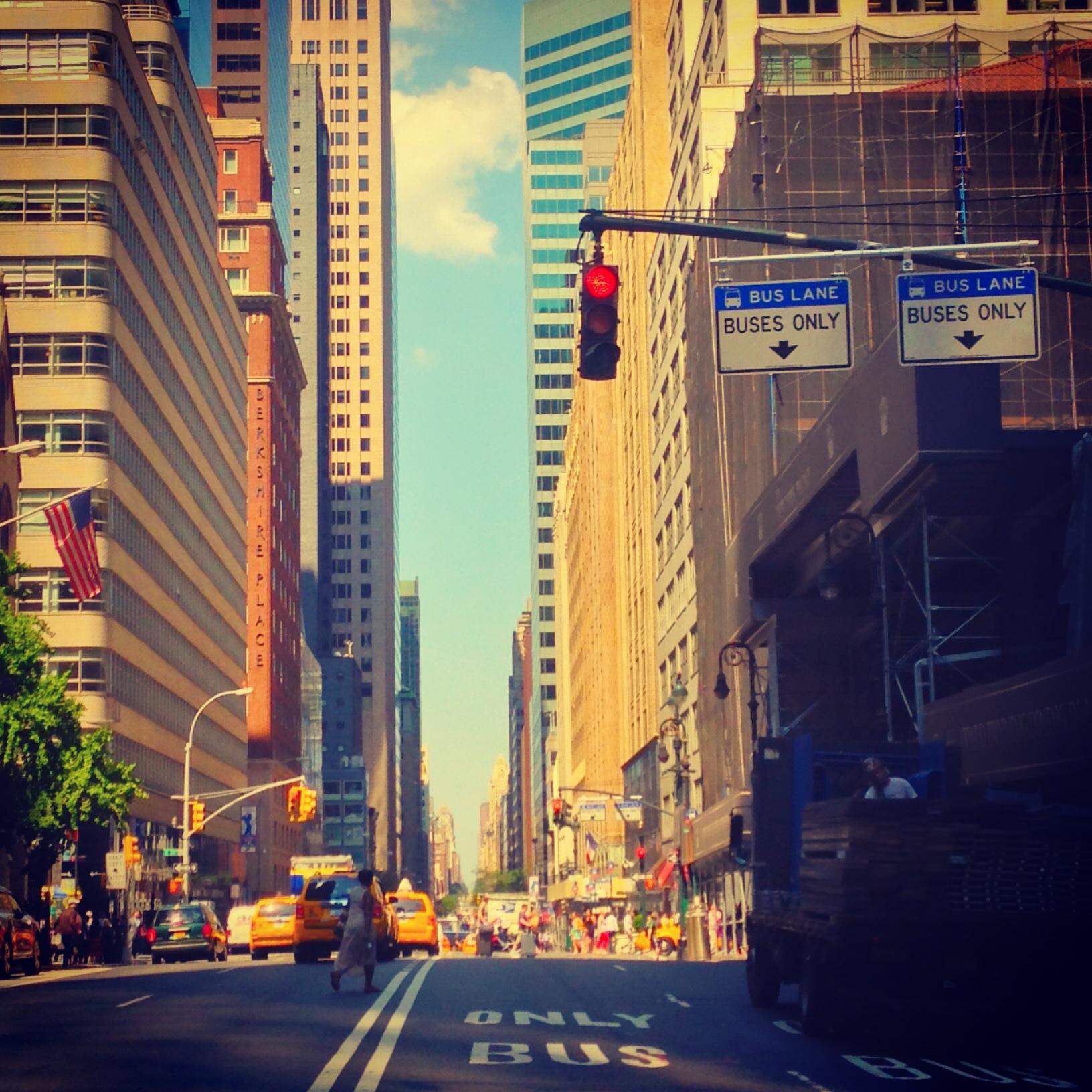 sliver of NYC sky