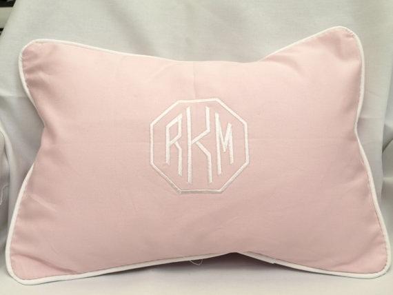 pinkmonogrampillow
