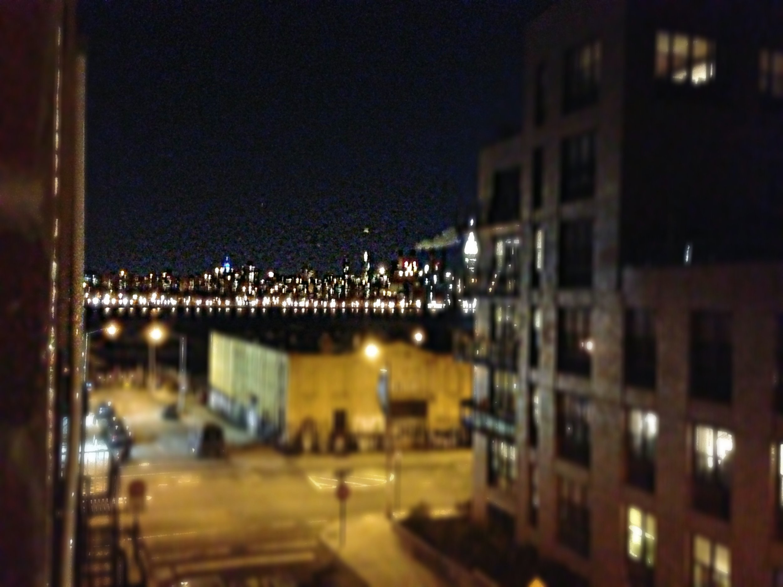 view from Markus' apartment NYC