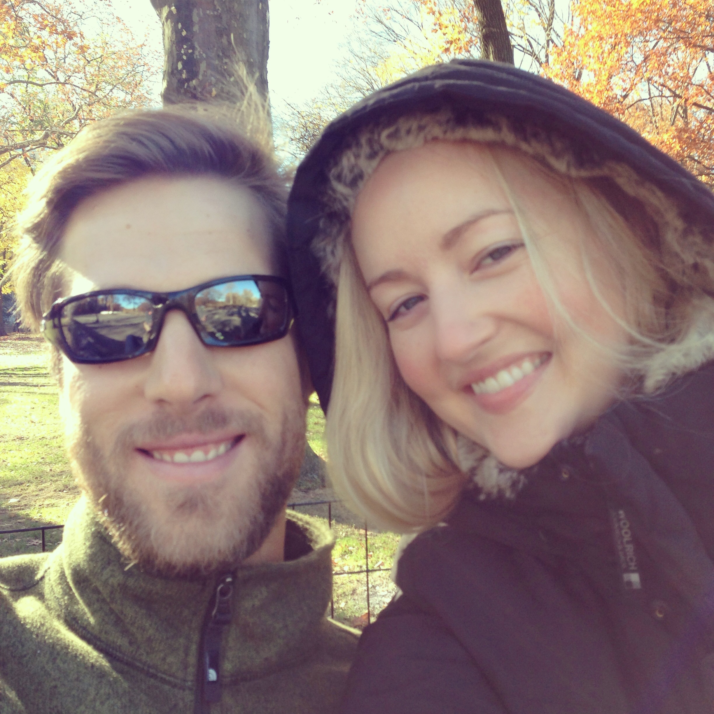 with Patrick in Central Park 11.23.13