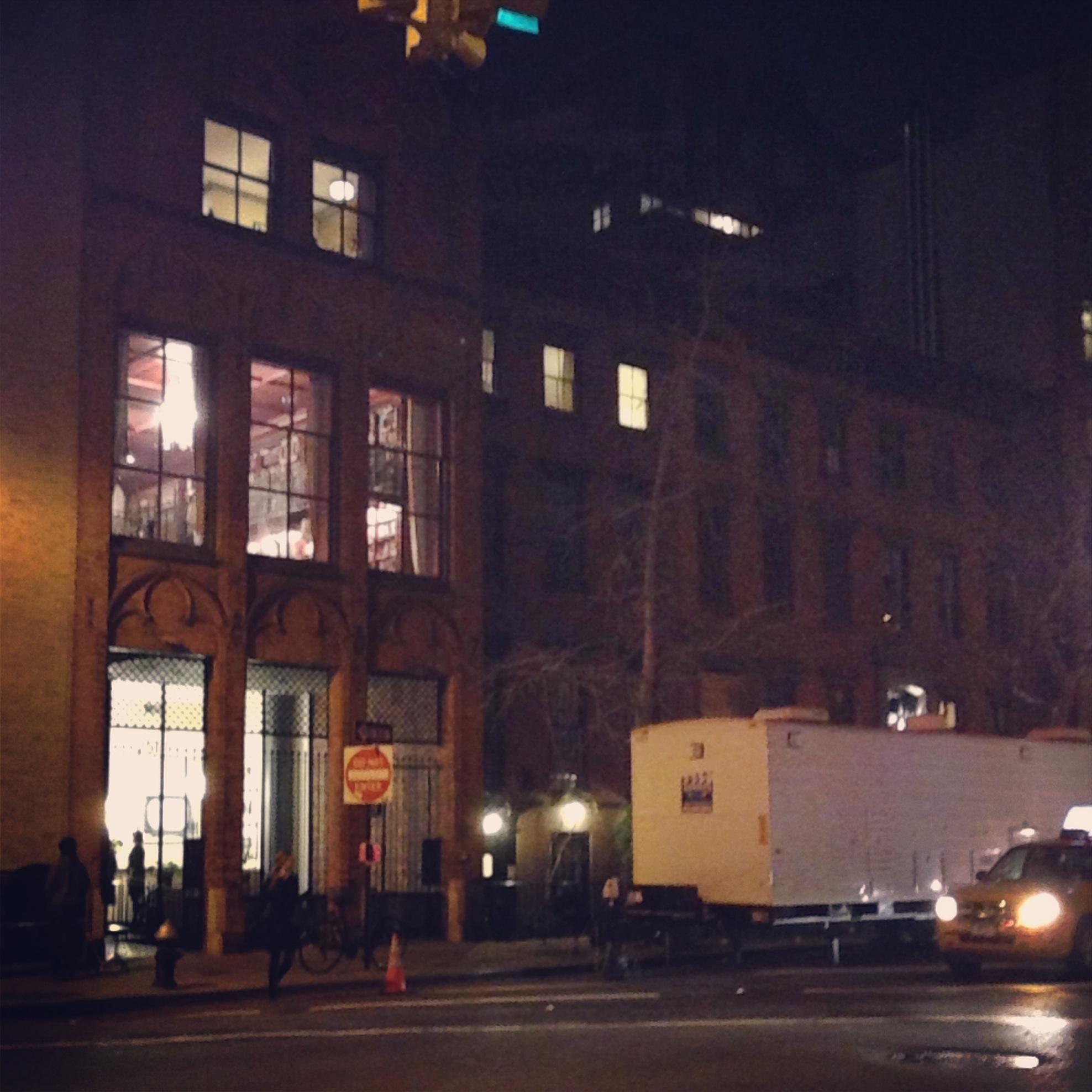 filming Annie Dec 2013 (1)