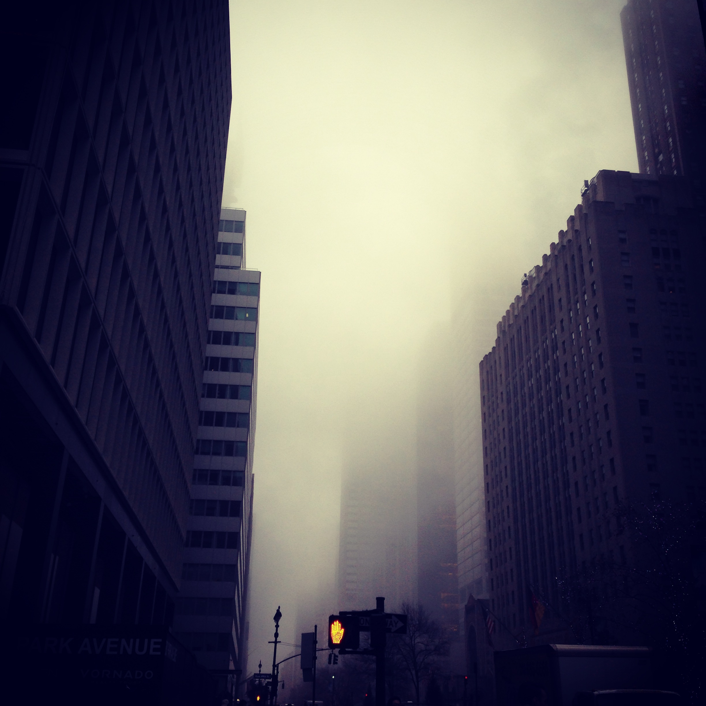 foggy NYC