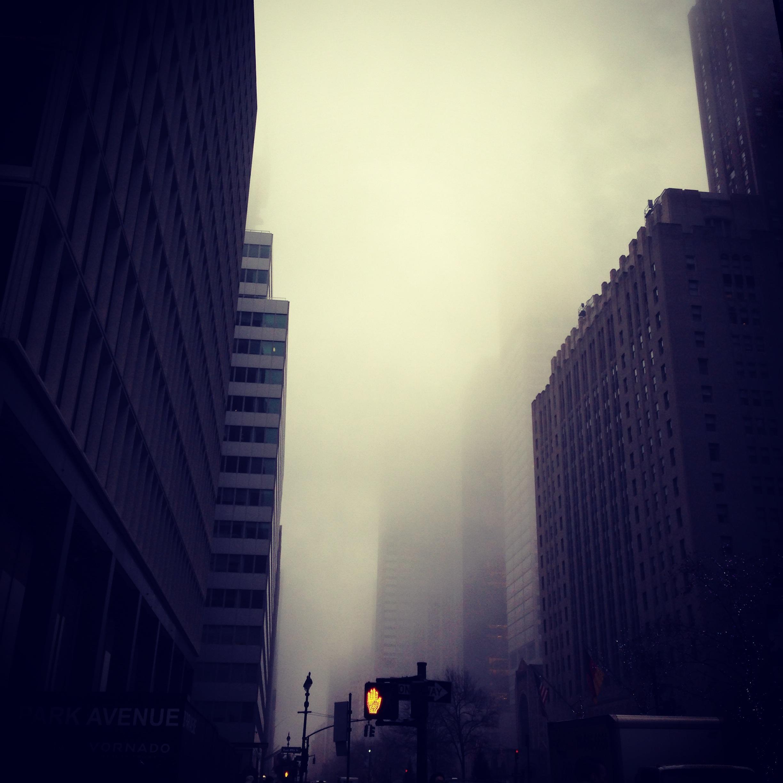 foggy NYC