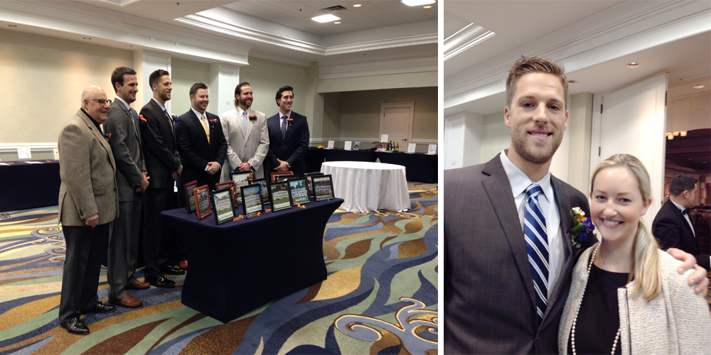 Hall of Fame inductees, Newport Gulls 2014