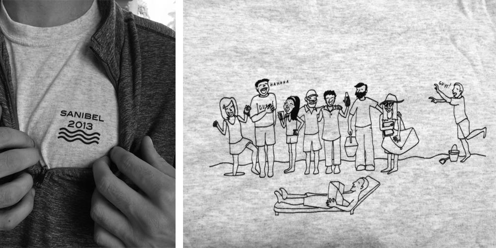Sanibel 2013 tshirts