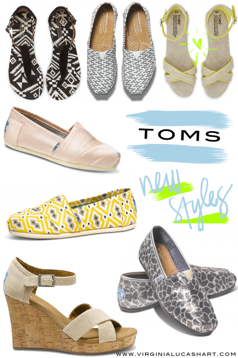 Toms new styles