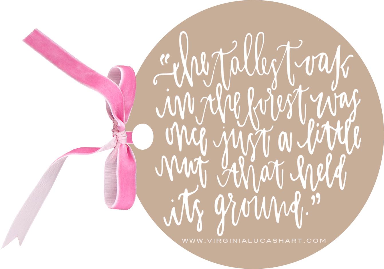 tallest oak quote
