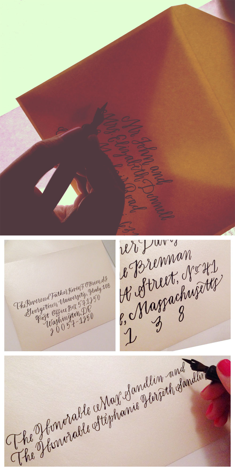 light box calligraphy