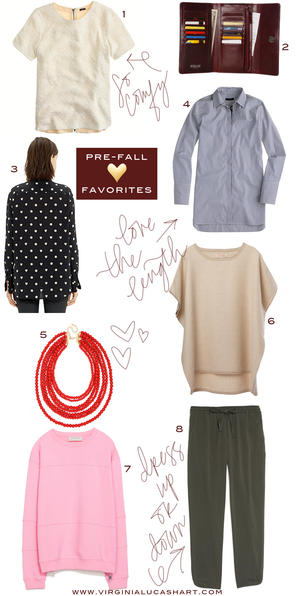 pre-fall favorites