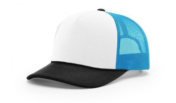 White/Black/Neon Blue