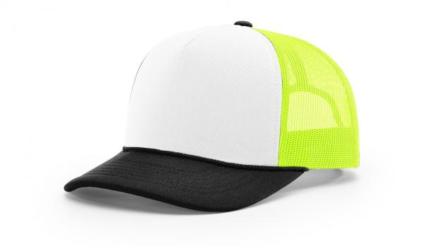 White/Black/Neon Green