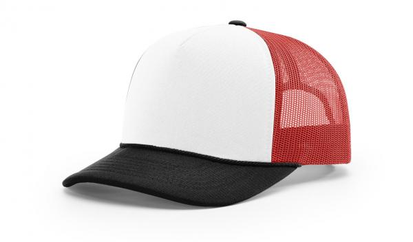White/Black/Red