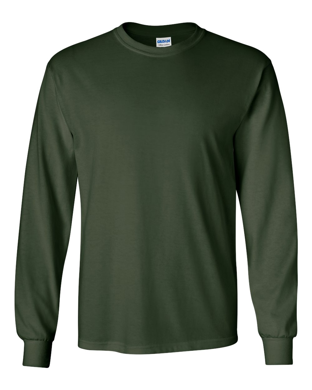 Gildan_2400_Forest_Green_Front_High.jpg