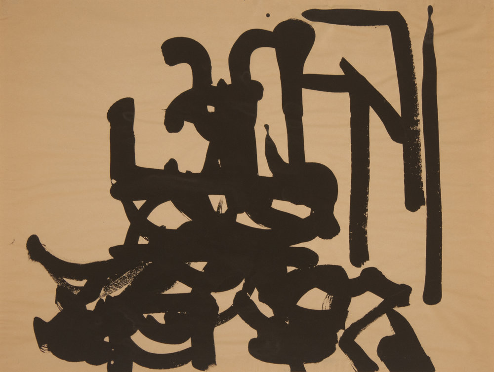 Brush Drawing 3, 1979