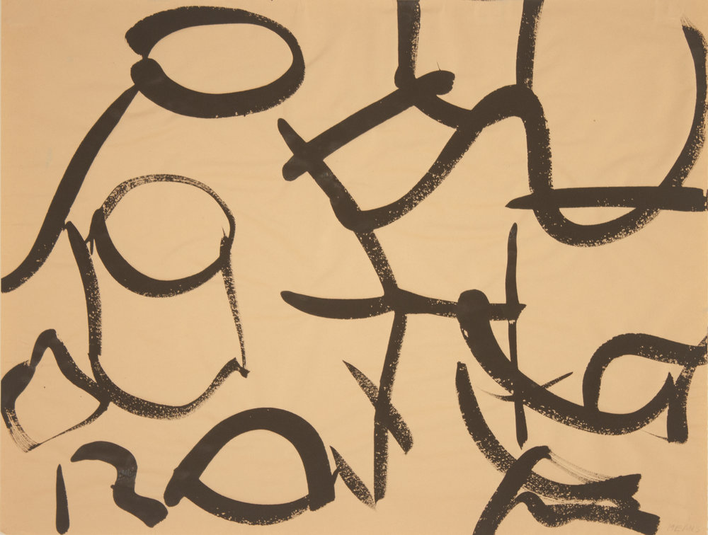Brush Drawing 1, 1979