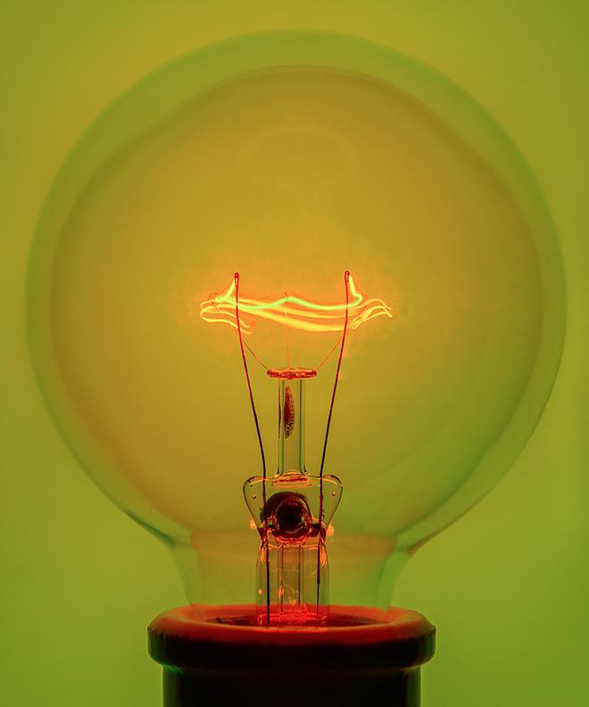 Light Bulb 2, 2018 Pigment Print