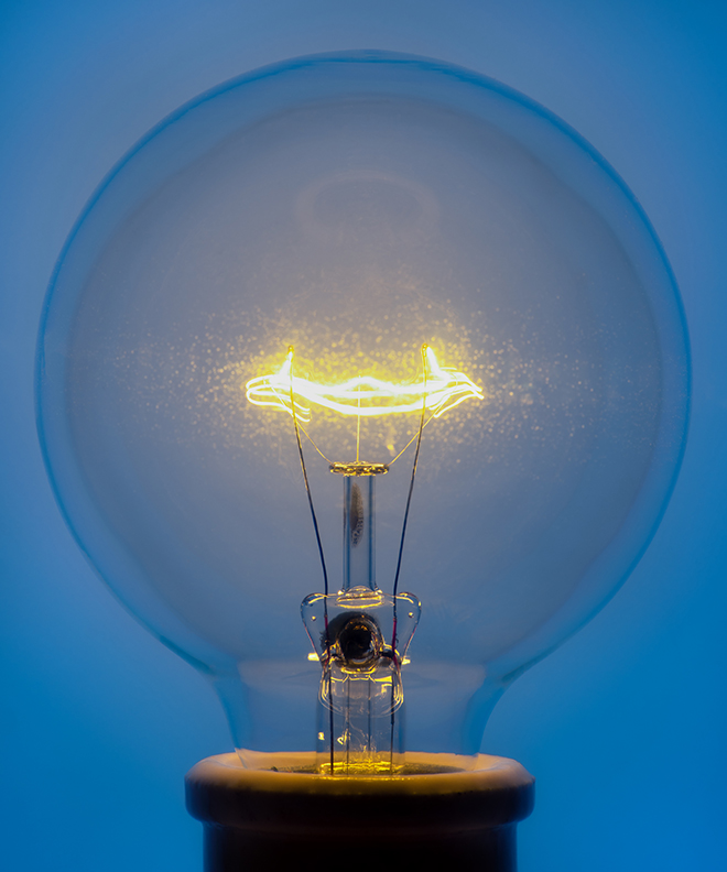 Light Bulb 1, 2019 Pigment Print
